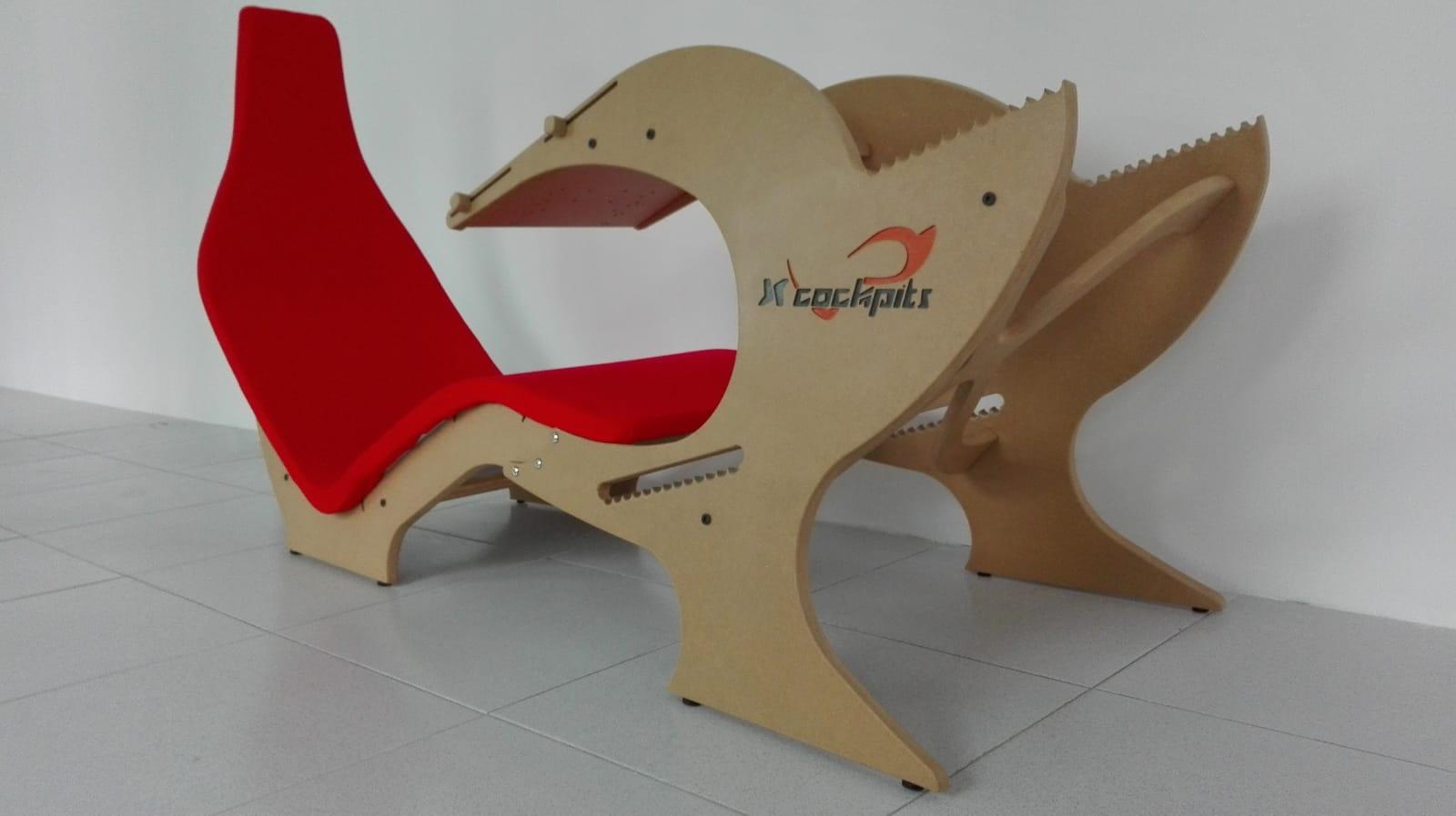 Proyecto Silla gamer roja
