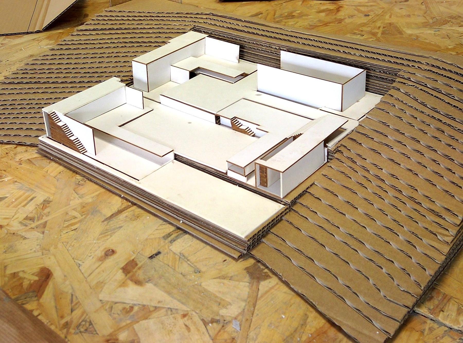 Proyecto Maqueta Arquitectura