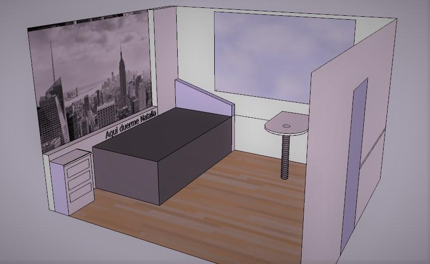 Proyecto Habitación Juvenil 01