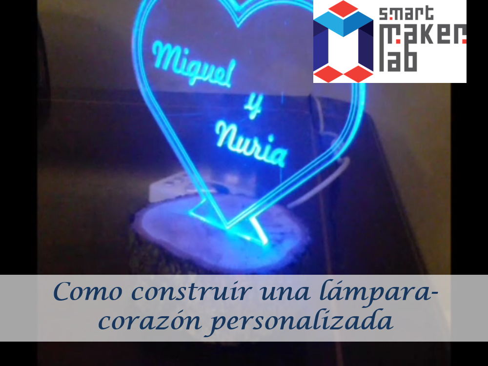 Proyecto Lámpara corazón